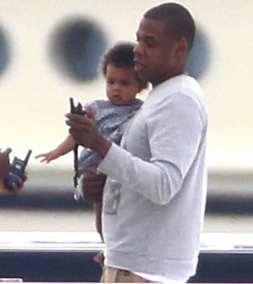 Jay and Blue Ivy