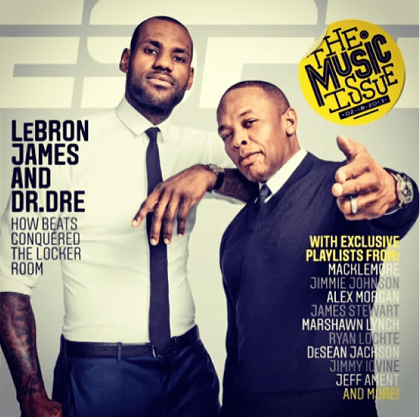 Lebron james for espn the magazine the music issue waraire boswell