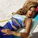 beyonce h m bikini ads summer campaign mrs carter one piece 18mp1jr 18mp1k2