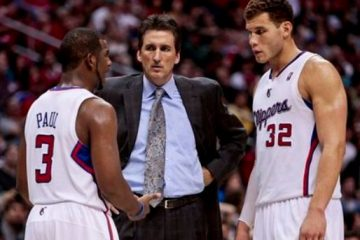 Clipper team conference between Chris Paul Vinny Del Negro and Blake Griffin