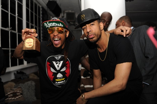 Lil Jon and Ryan Leslie at the Tequila Don Julio Cinco de Mayo Party in NYC on May 2