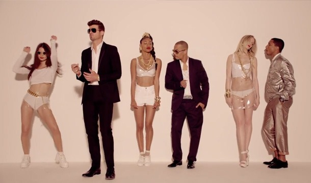 Robin Thicke Blurred Lines Ft TI Pharrell