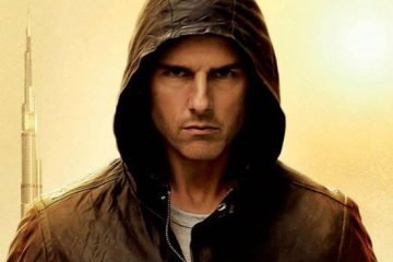 Tom Cruise as Ethan Hunt in Mission Impossible Ghost Protocol