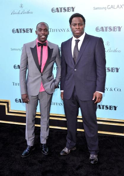 "Michael K. Williams and Jeymes Samuel attend the ""The Great Gatsby"" world premiere at Avery Fisher Hall at Lincoln Center for the Performing Arts on May 1, 2013 in New York City."