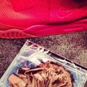 kanye west in nike air yeezy 2 red1