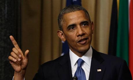 Obama South Africa
