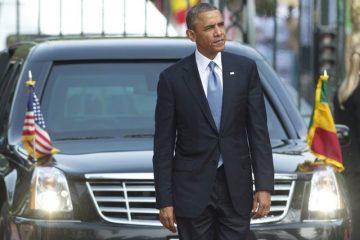 Obama Visits South Africa