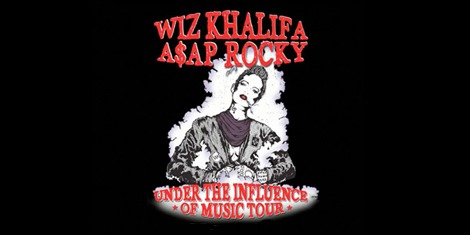 wiz khalifa asap rocky under the influence of music 2013