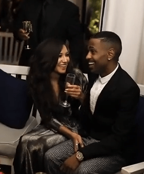 video big sean hosts the moet rose lounge the source