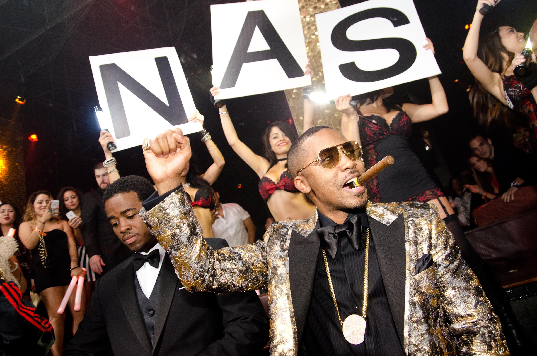 nas birthday Nas Celebrates His 40th Birthday in New York and Vegas | The Source nas birthday