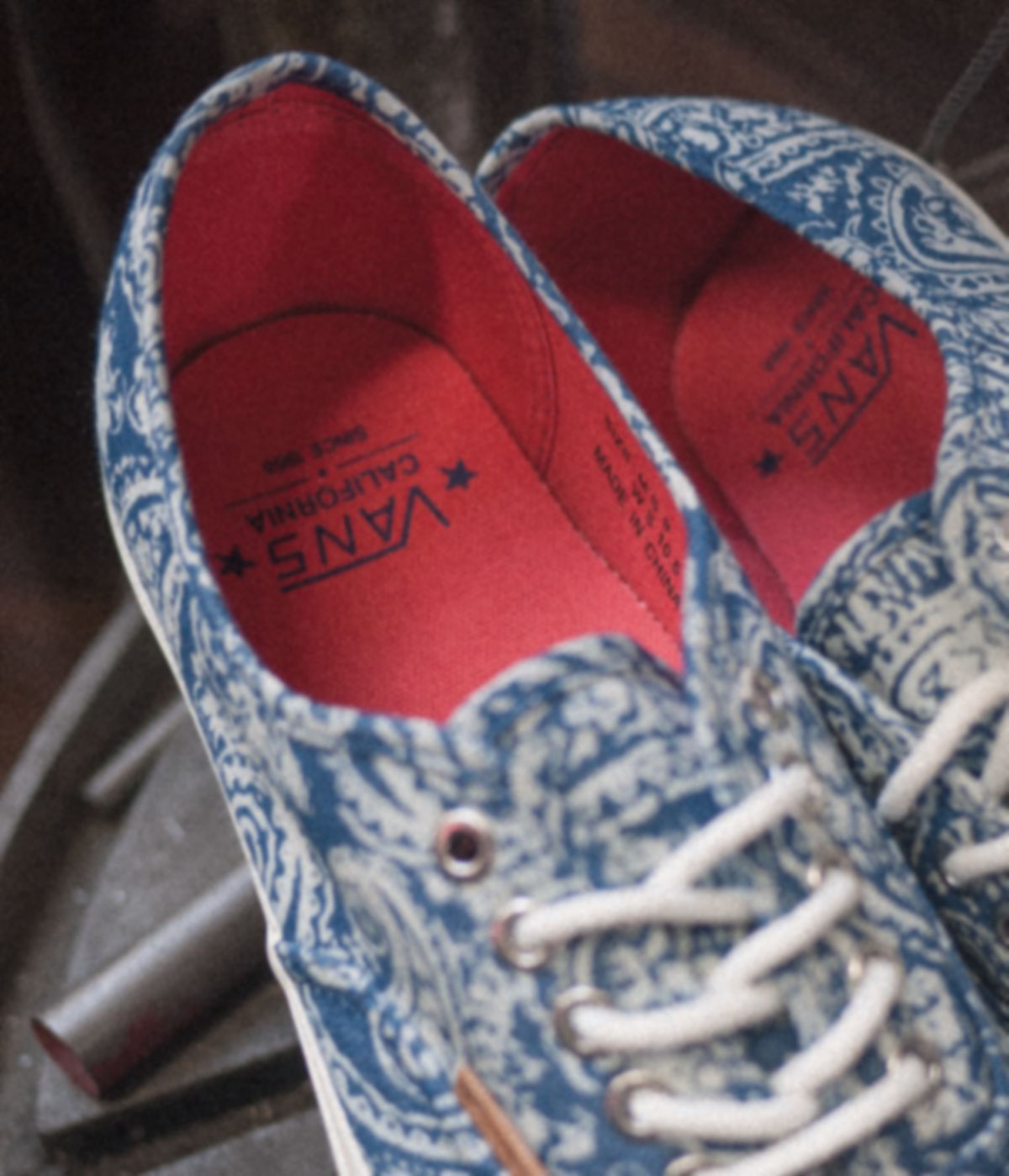 Vans California Collection Paisley Authentic Holiday 2013