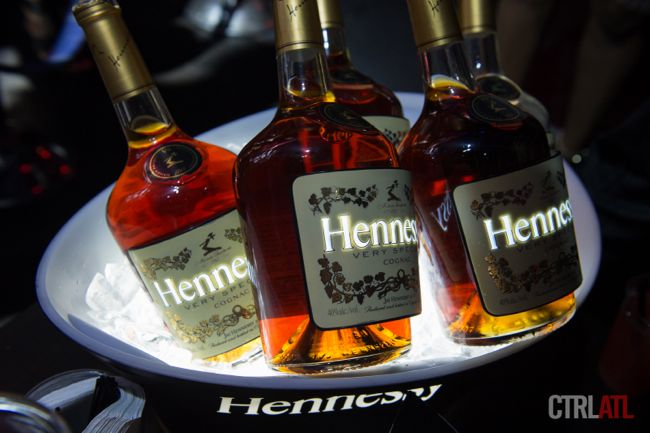 Hennessy Luminous bottles
