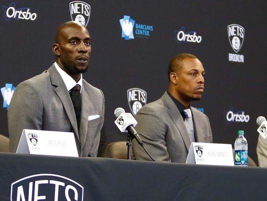 Paul Pierce, Kevin Garnett, Brooklyn Nets, Barclays, NBA Playoffs