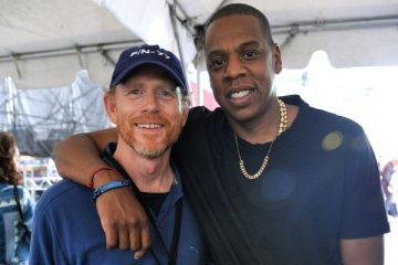 Ron Howard and Jay Z