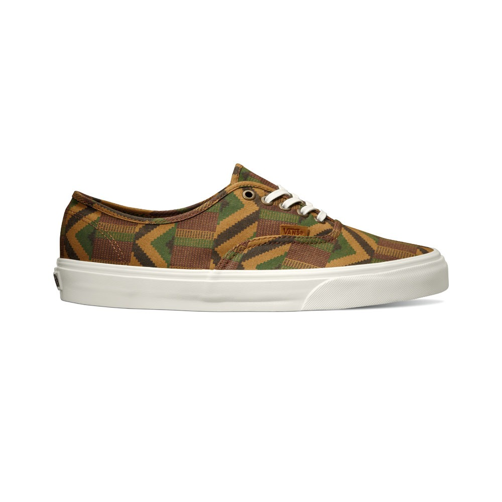 Vans California Collection Authentic CA Cali Tribe Khaki Holiday 2013