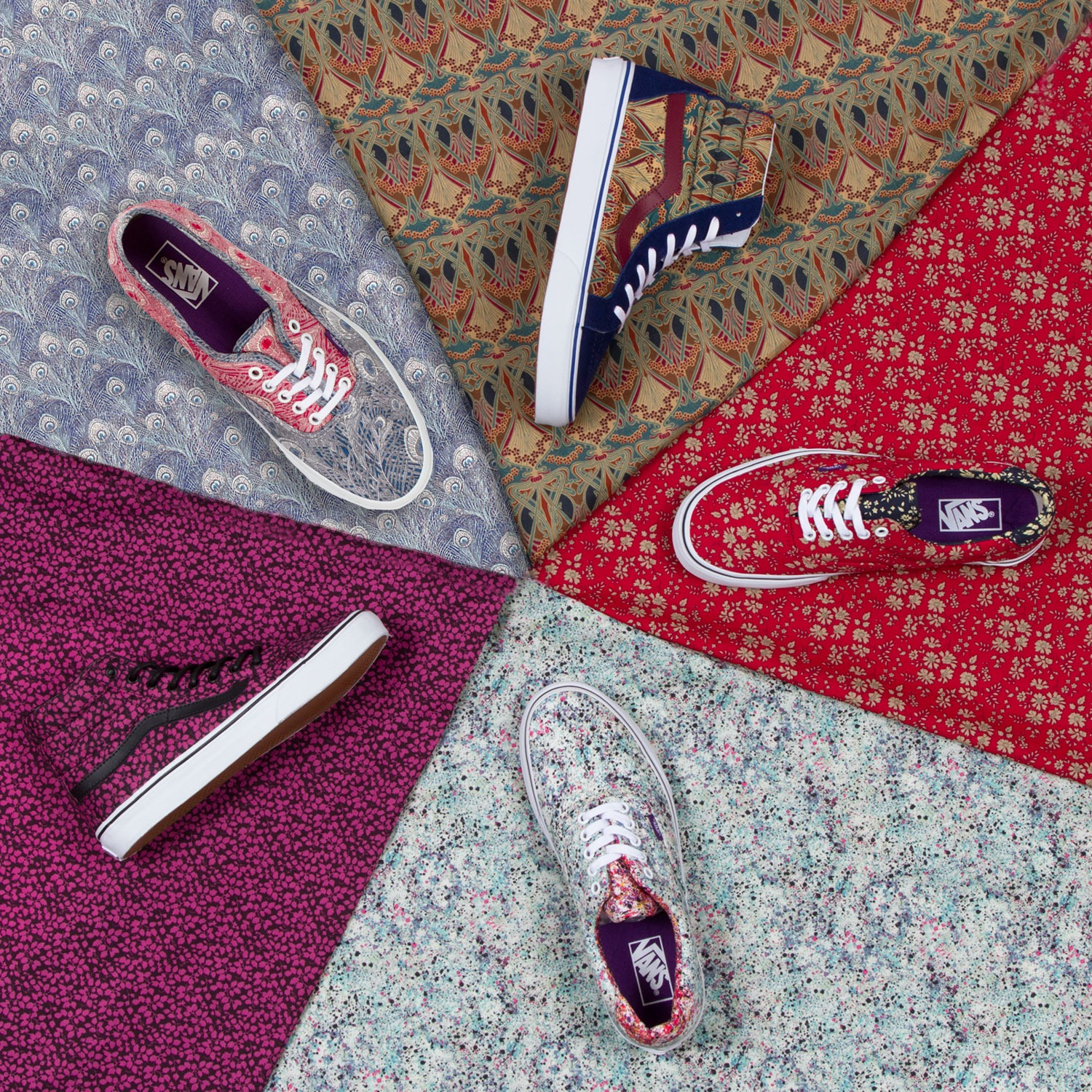 Vans x Liberty Holiday 2013 Collection