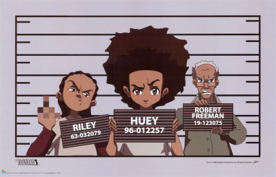 The boondocks, April 21, Adult Swim, Huey Freedman, Riley Freedman