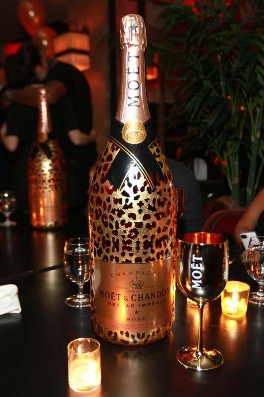 Moët Nectar Impérial Rosé Leopard luxury limited edition