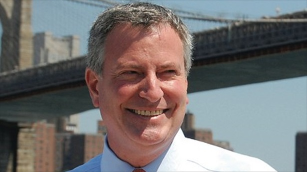 NYC Democratic mayoral candidate Bill de Blasio Facebook