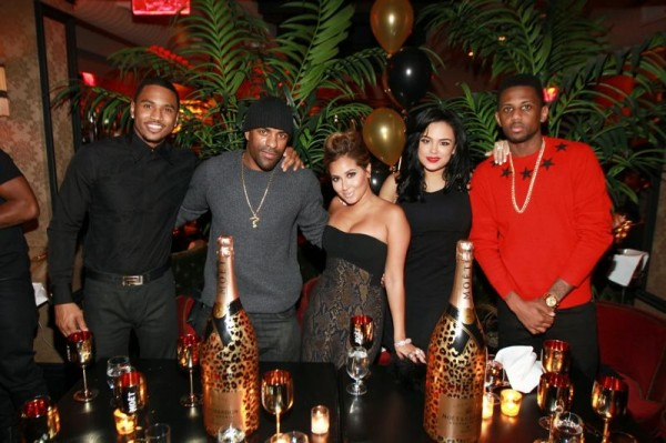 Trey Songz, DJ Clue, Adrienne Bailon, Emily Bustamante, Fabolous