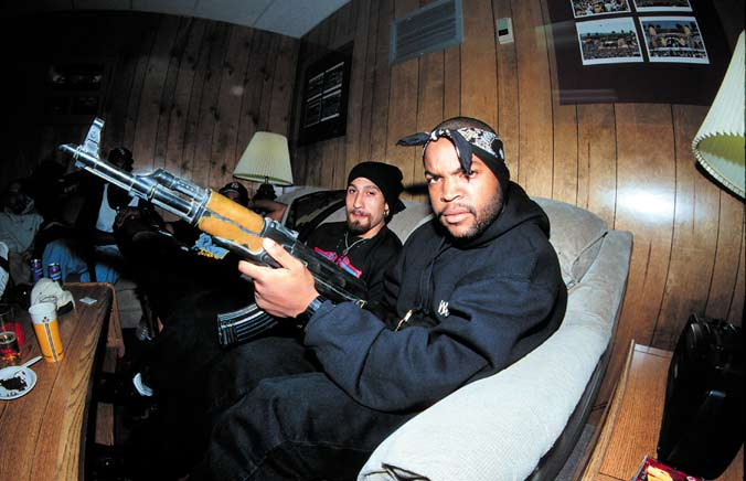 ice cube  b real