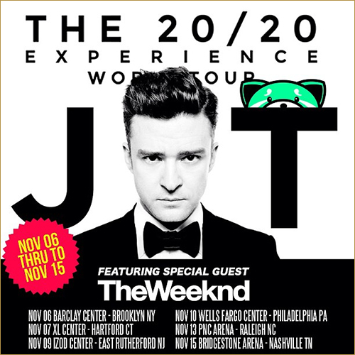 Weeknd Tour Dates 2020 The Weeknd To Join Justin Timberlake's
