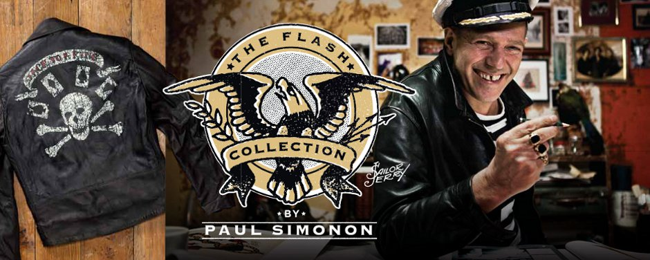 The Flash Collection by Paul Simonon.
