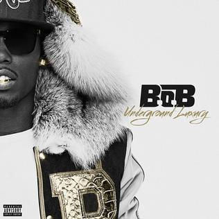 B.o.B   Underground Luxury   LP Cover