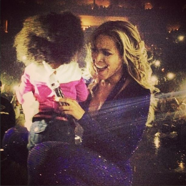Beyonce and Heaven King