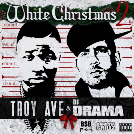 Troy Ave White Christmas 2 front large 450x450