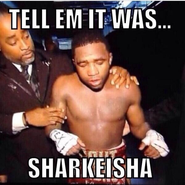 adrien broner tell em it was sharkeisha