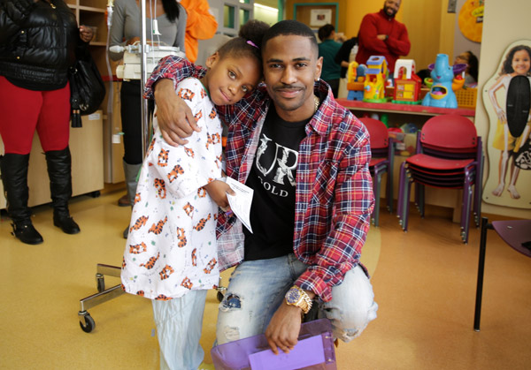 big sean childrens hospital 1