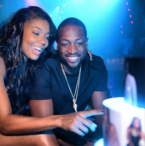Newly Engaged Couple Gabrielle Union & Dwyane Wade Share First