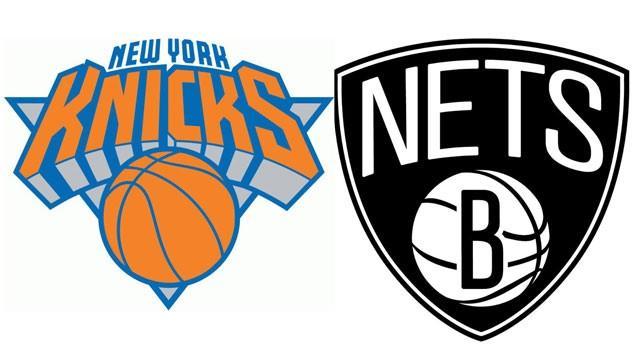knicks vs brooklyn nets at barclays center