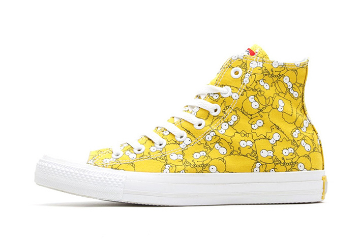 the simpsons x converse 2014 spring chuck taylor all star hi 1