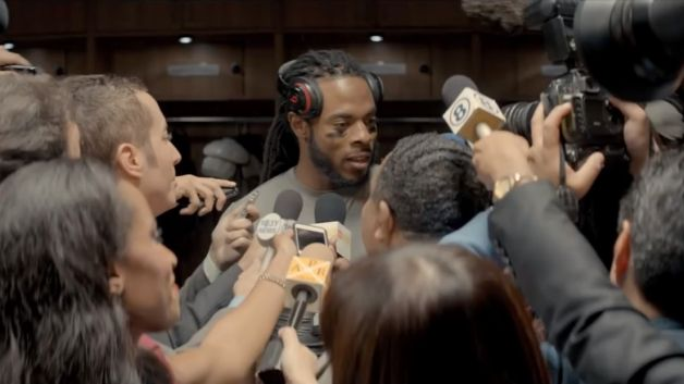 012914 music richard sherman beats by dre commercial