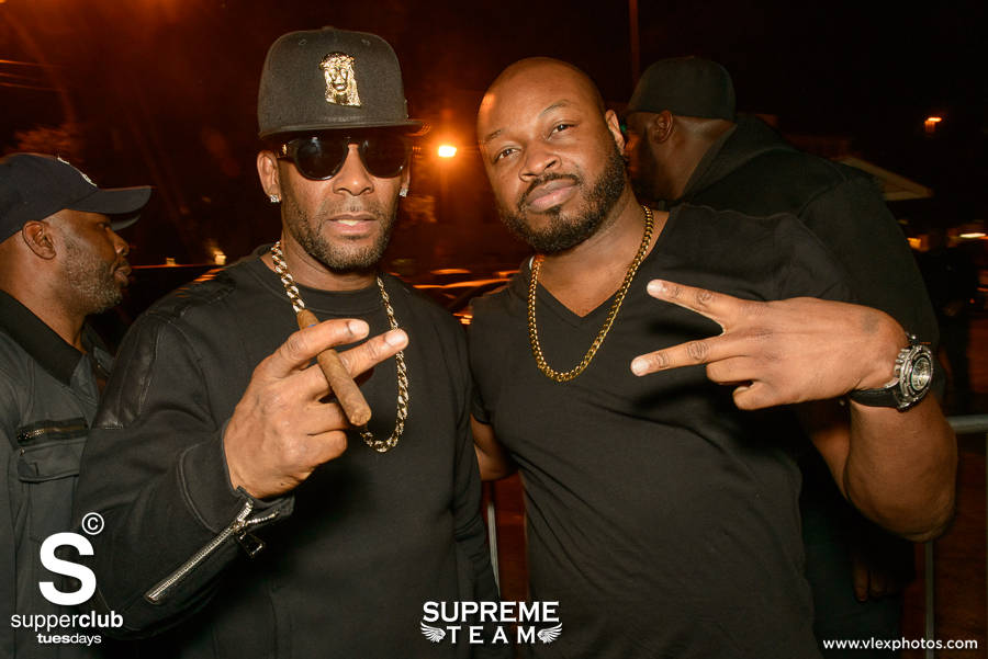 R Kelly Brings 'Black Panties' To Superclub Tuesdays