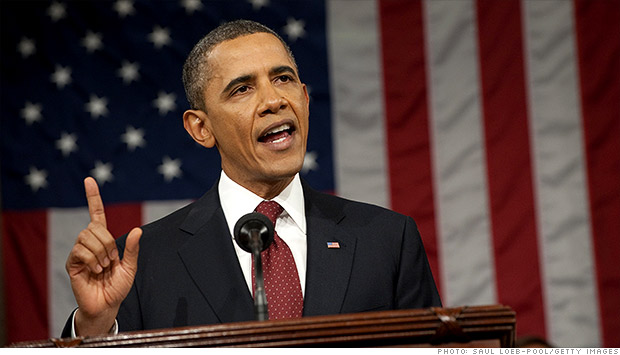 Obama, President, Bill Clinton, George W. Bush, State of the Union