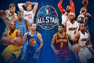 New Orleans, All Star Game, LeBron James, Kevin Durant, NBA