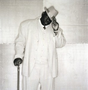 Rapper Notorious B.I.G.