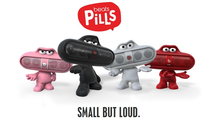 Beats by Dre Pill Characters