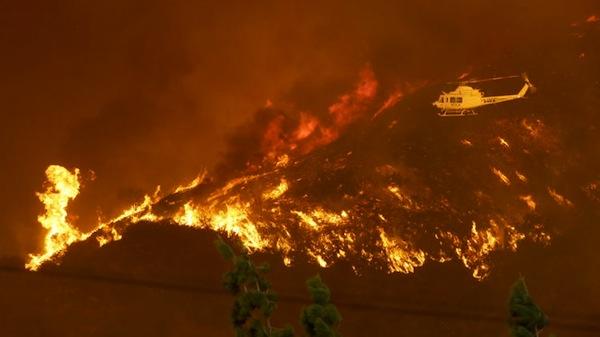 California Fire Feature