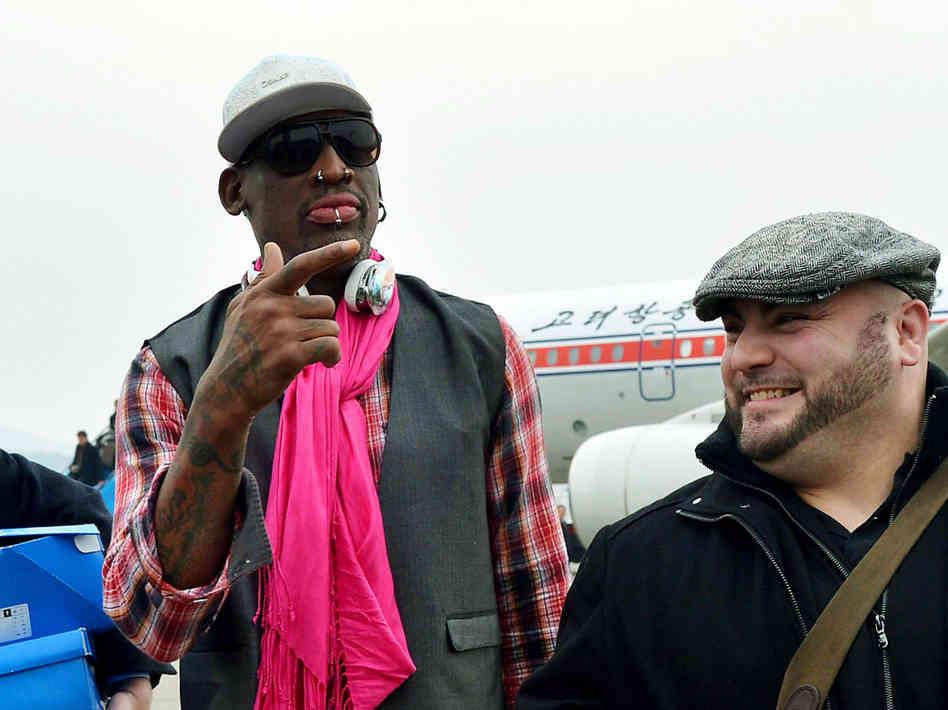 Dennis Rodman Defends Feature