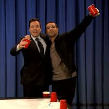 Drake and Jimmy Fallon