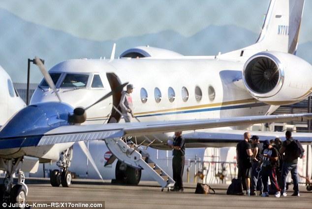 Justin bieber private jet