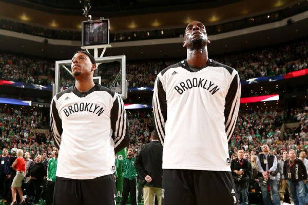 Paul Pierce, Kevin Garnett, Nets, Celtics, NBA