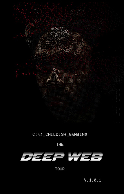 childish gambino deep web tour