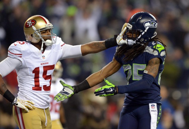 nfl nfc championship san francisco 49ers at seattle seahawks 3