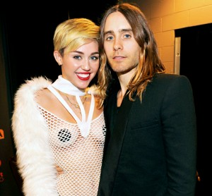 Miley Cyrus and Jared Leto-The Source
