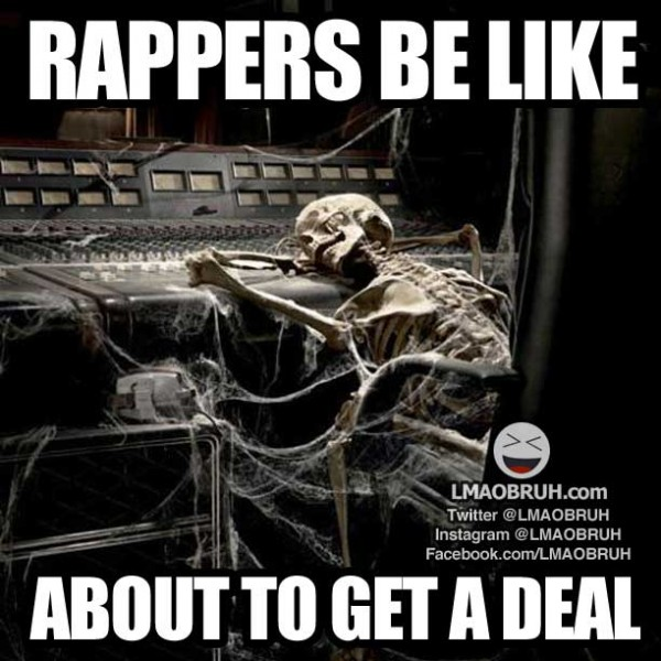 rappers, struggle rappers, rappers be like, funny